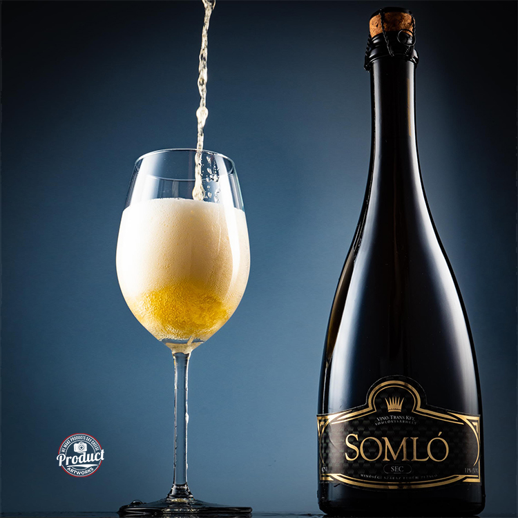 product photo wine