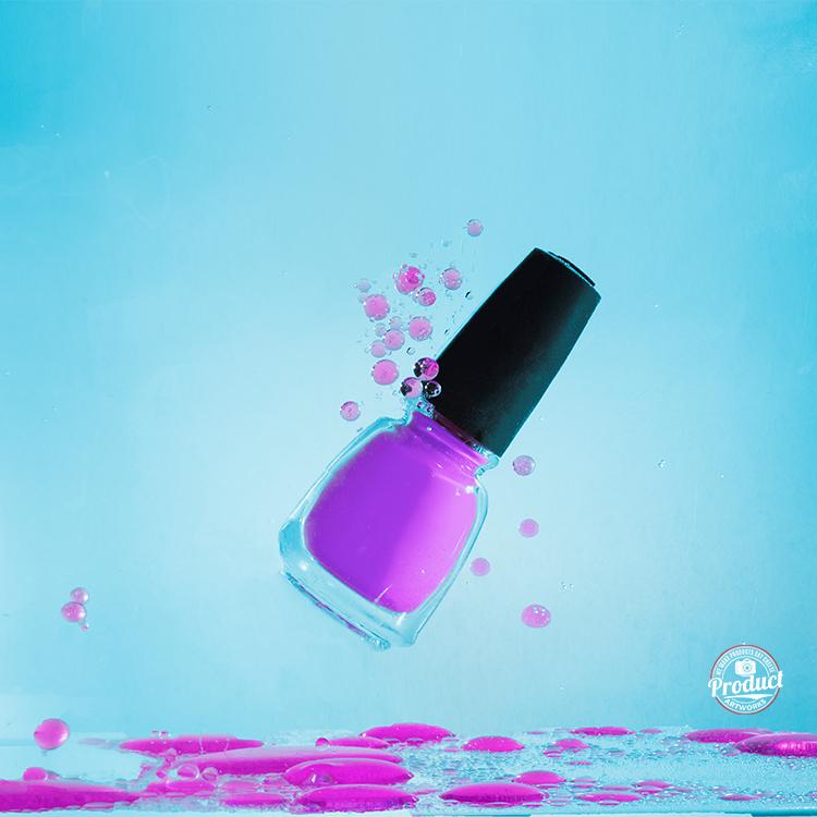 product photography nail polish